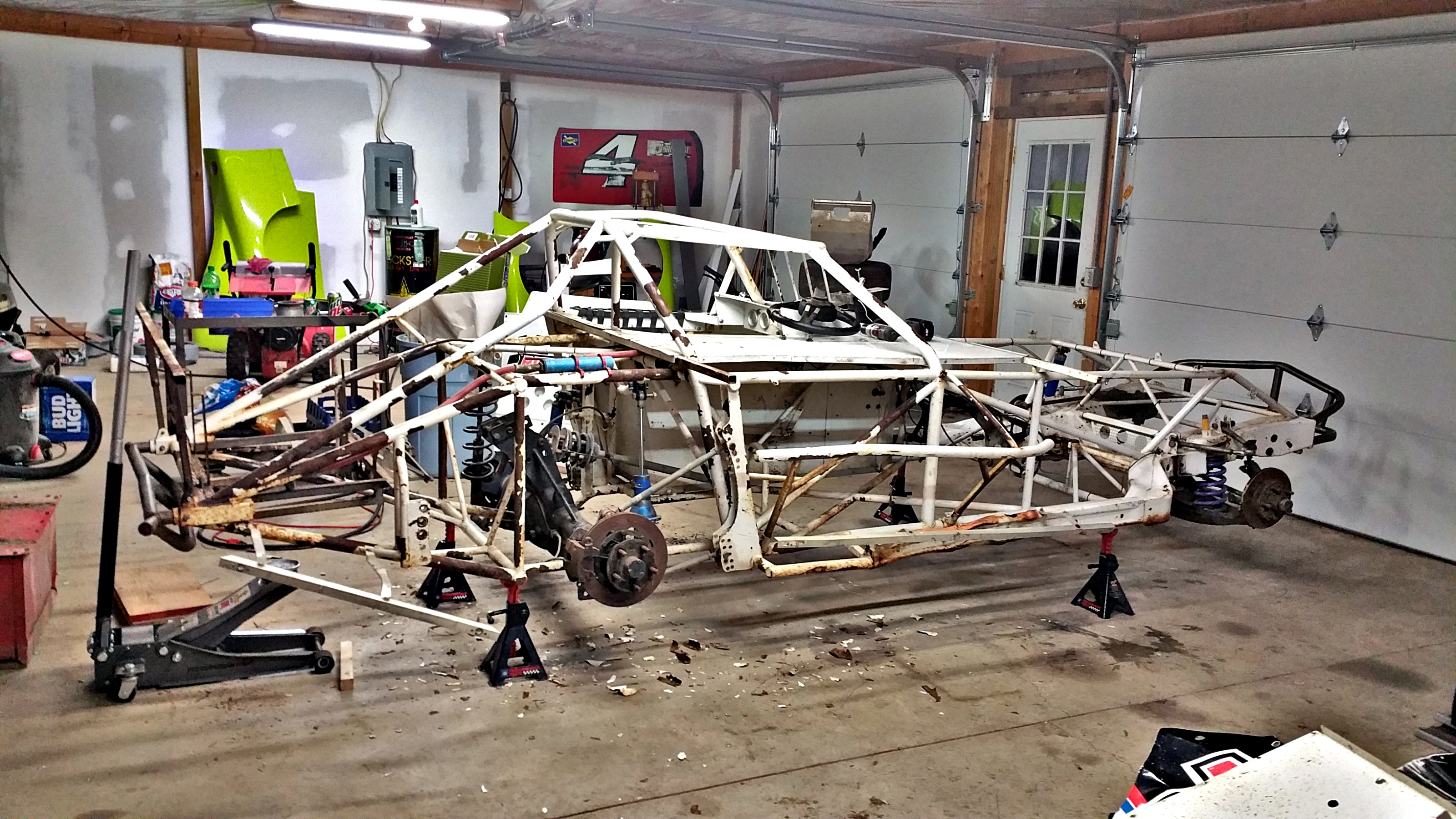 PROJECT LOG: #thedirtcar [2-24-17] The New Dirt Modified